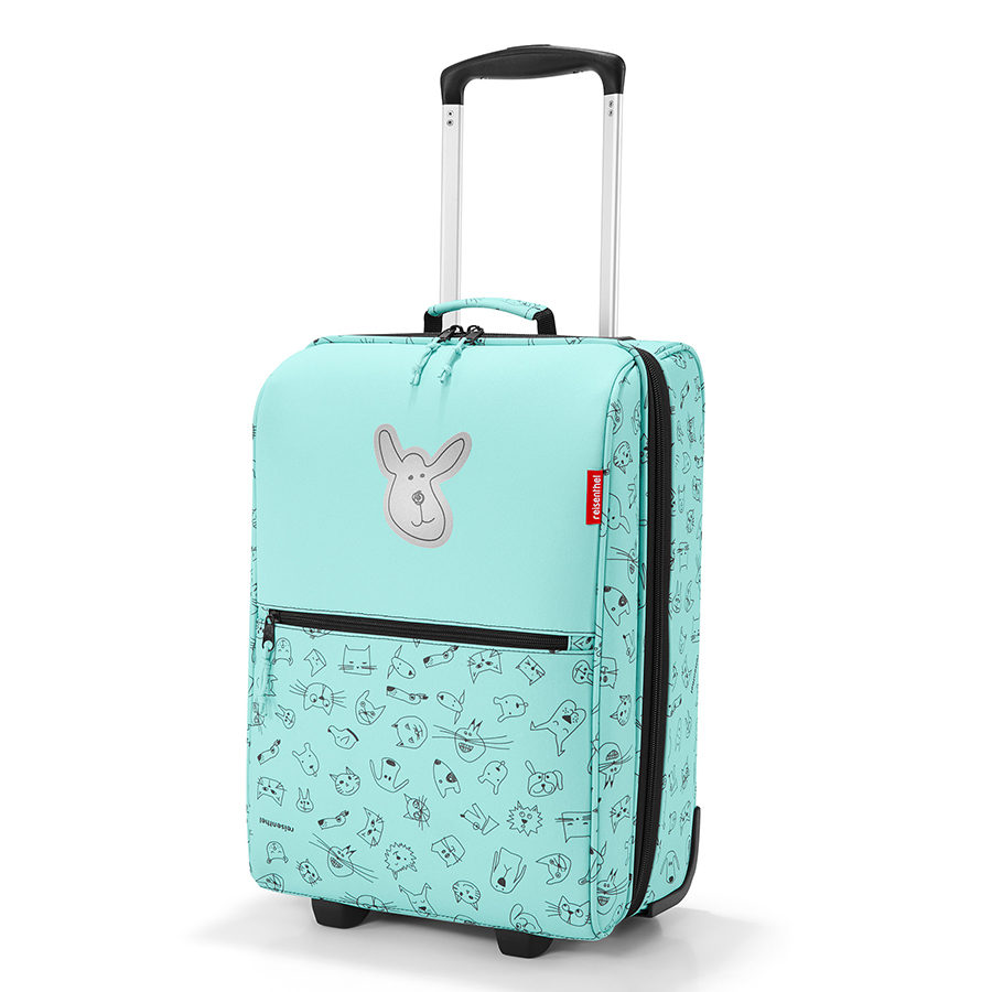 Чемодан детский Trolley XS Cats and Dogs mint, 30х20 см, 45 см, Полиэстер, Reisenthel, Германия, Cats and Dogs