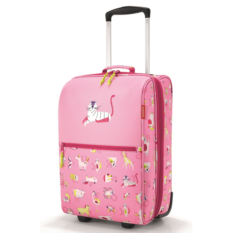 Чемодан детский Trolley XS abc friends pink, 30х20 см, 45 см, Полиэстер, Reisenthel, Германия, Friends pink