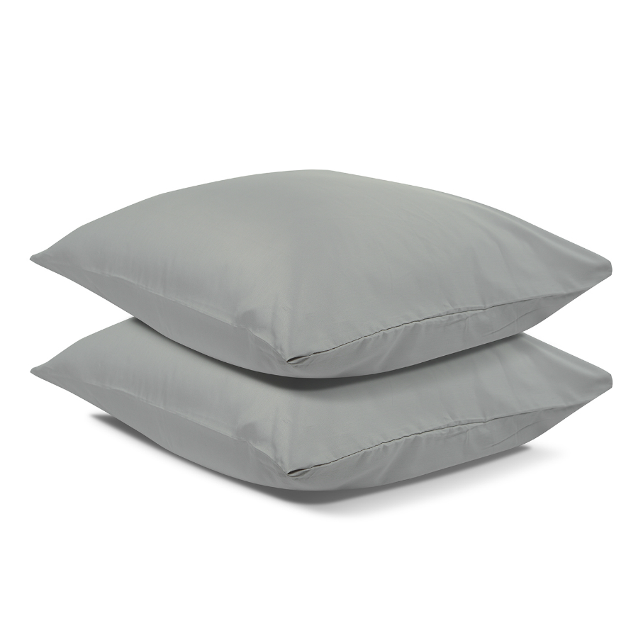 Наволочки Essential satin light gray 70х70, 2 шт.