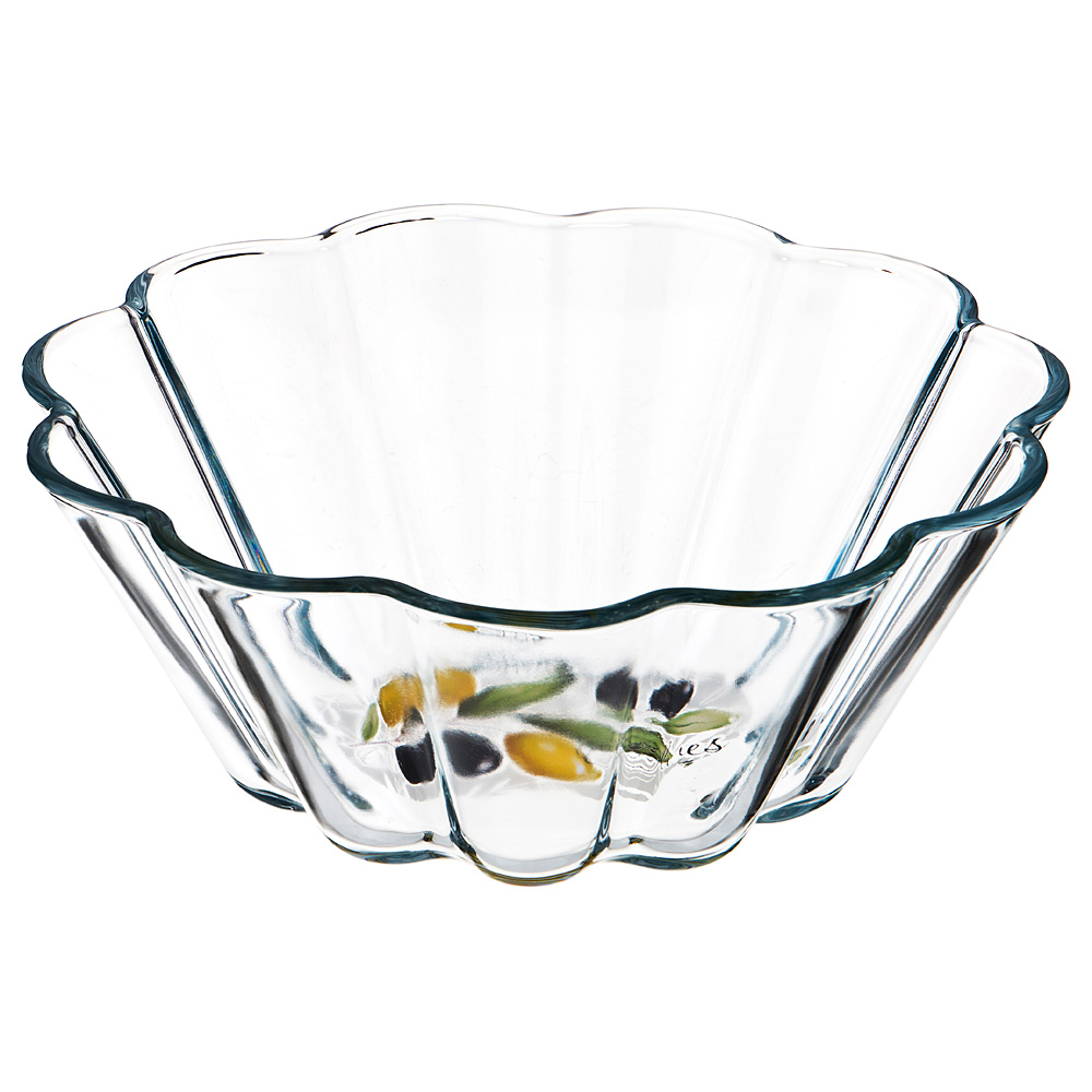 Круглая форма Glass olives 1,7, 22 см, 9 см, 1,7 л, Стекло, Россия, Glass olives