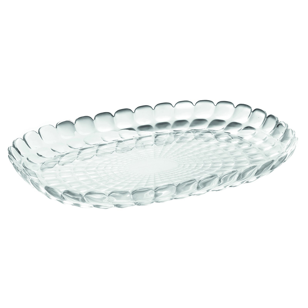 Поднос Tiffany Clear, 32х23 см, 3 см, Пластик, Guzzini, Италия, Tiffany