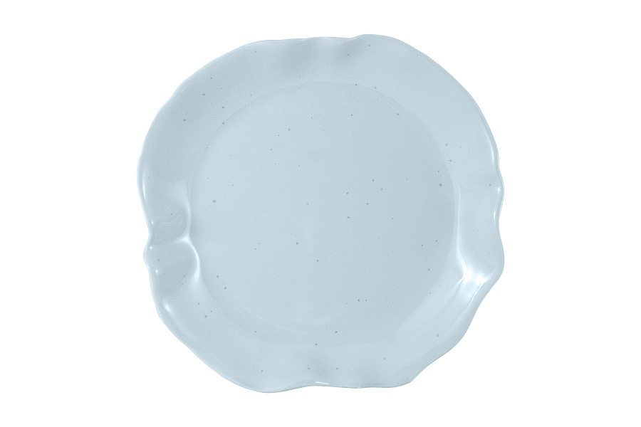 Тарелка десертная Moon light blue, 21 см, Фарфор, Home & Style, Китай, Moonlight