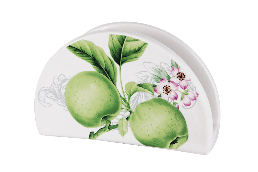 Салфетница Green apples, 16 см, Керамика, Imari, Китай, Green apples