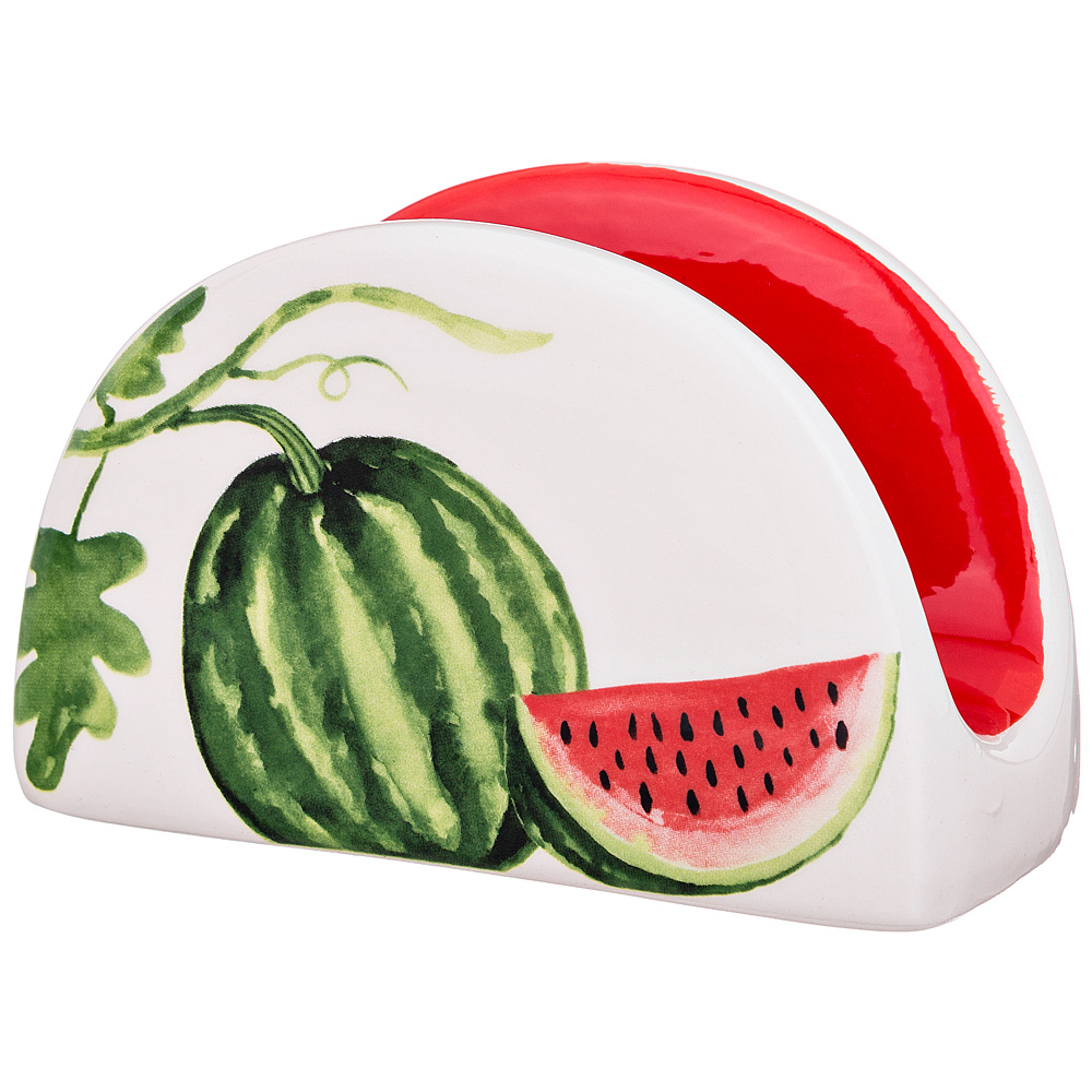 Салфетница Watermelon slices, 7 см, 12 см, Керамика, Lefard, Китай, Watermelon slices