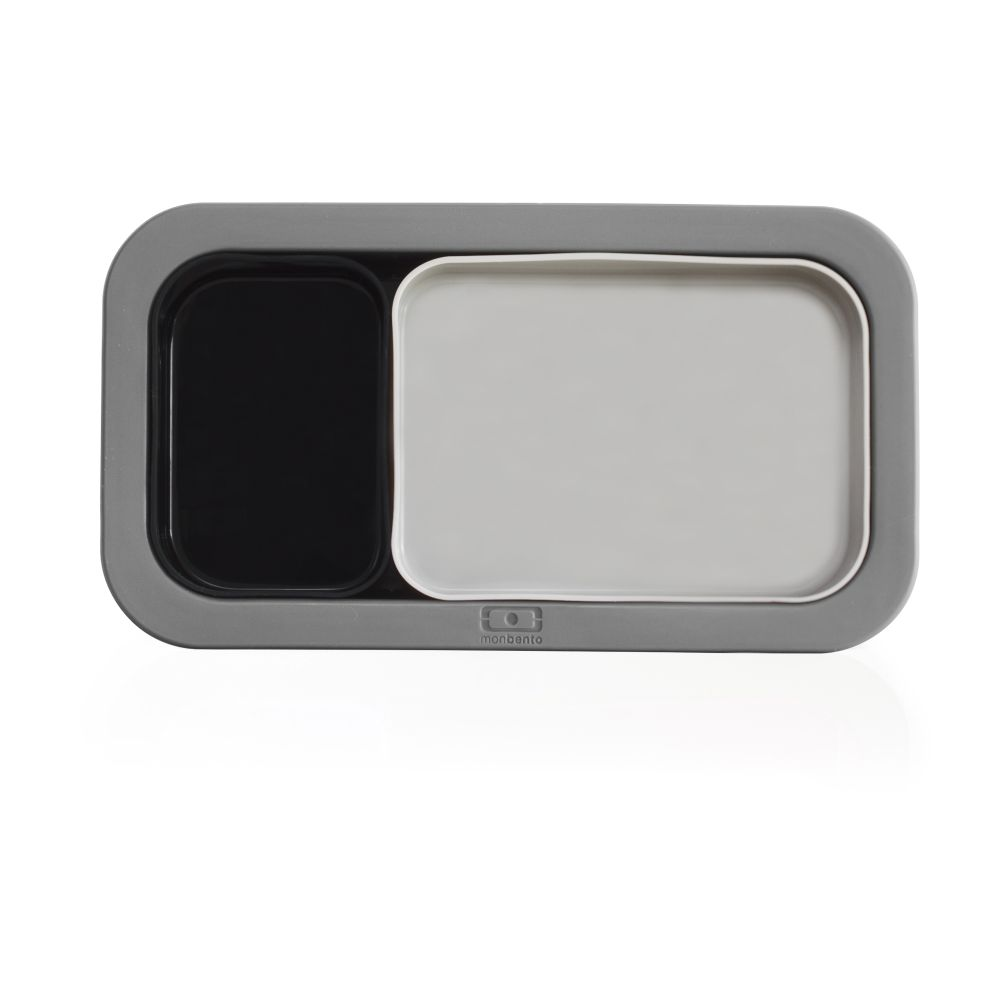Форма для выпечки Mb Original Black-Grey, 20х11 см, 4 см, Силикон, Monbento, Франция