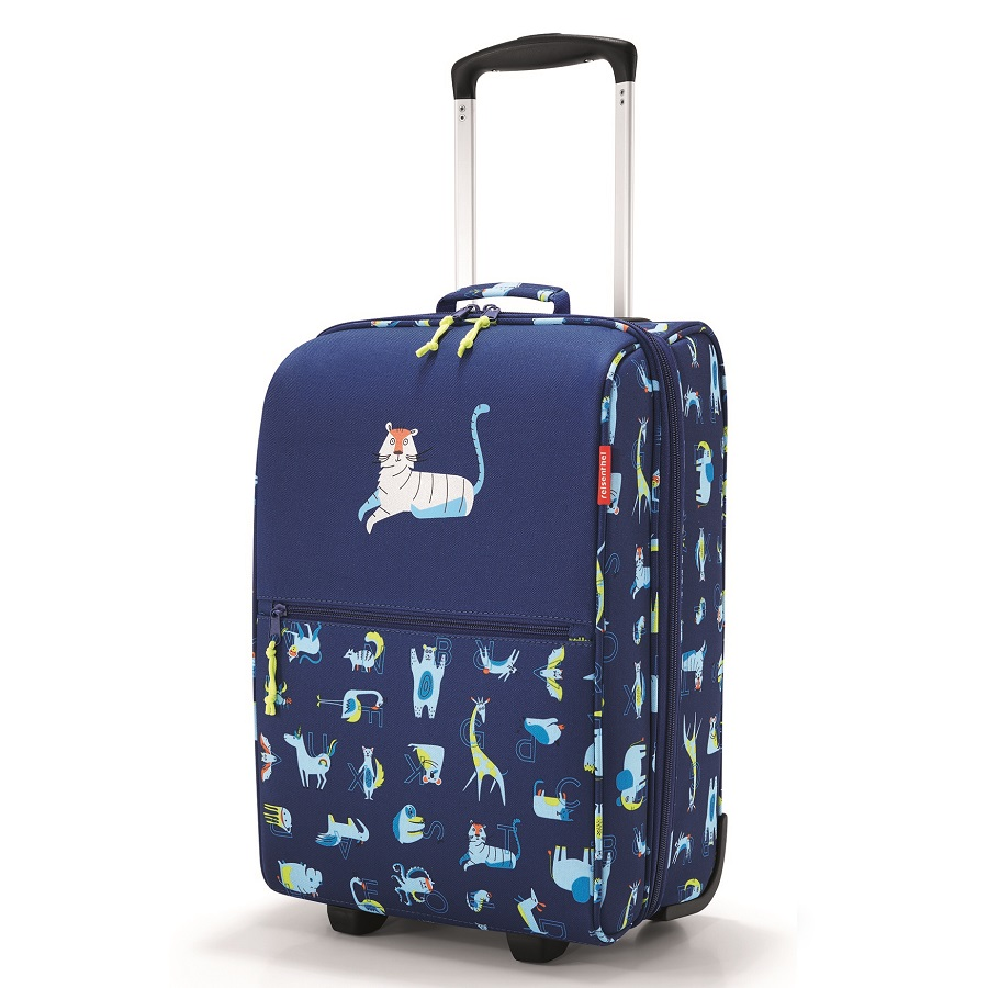 Чемодан детский Trolley XS abc friends blue, 30х20 см, 45 см, Полиэстер, Reisenthel, Германия, Friends blue