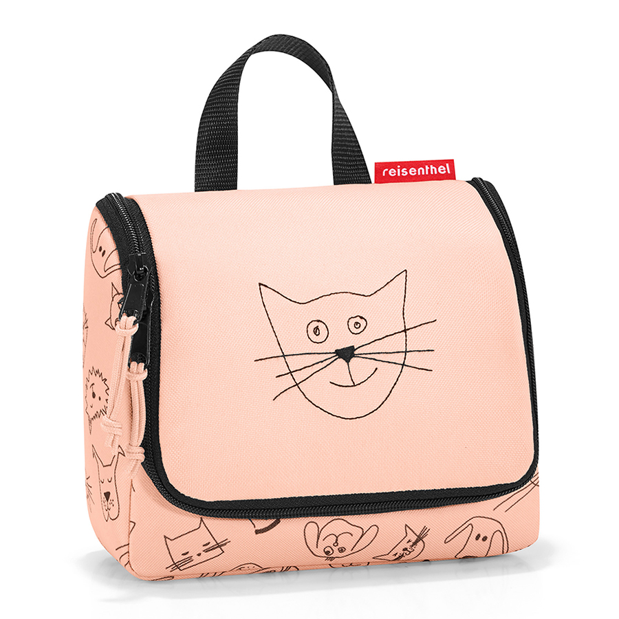Детский органайзер Toiletbag Cats and Dogs Rose S, 18х7 см, 16 см, Полиэстер, Reisenthel, Германия, Cats and Dogs
