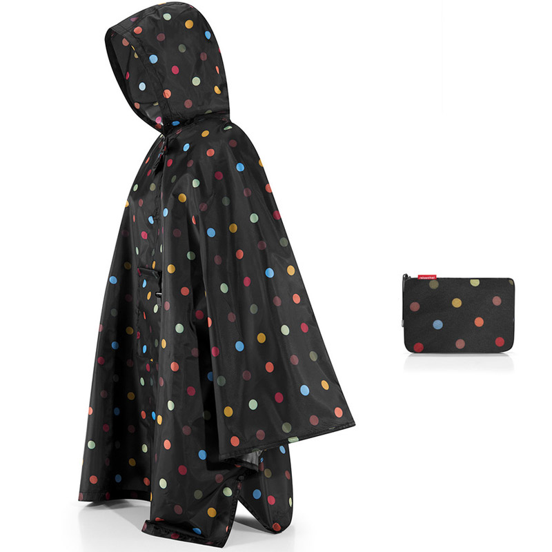 Дождевик Mini maxi Multi dots, Полиэстер, Reisenthel, Германия, Multi dots