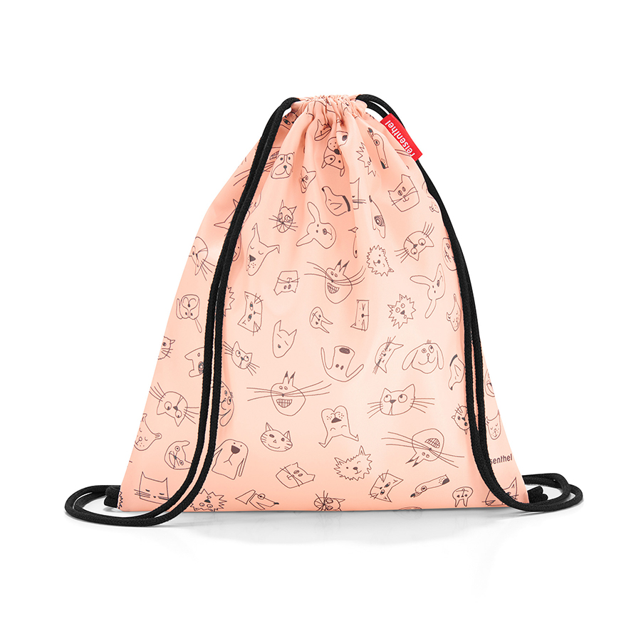 Мешок детский Mysac Cats and dogs Rose, 30х34 см, Полиэстер, Reisenthel, Германия, Cats and Dogs