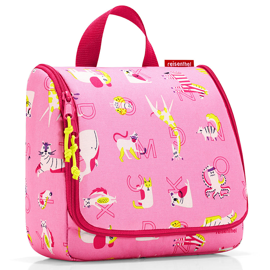 Органайзер детский Toiletbag Abc friends pink, 20x10 см, 3 л, 25 см, Полиэстер, Reisenthel, Германия, Friends pink
