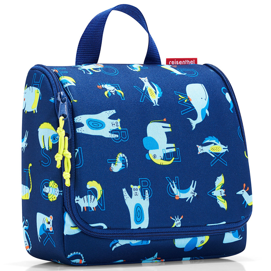 Органайзер детский Toiletbag Abc friends blue, 20x10 см, 3 л, 25 см, Полиэстер, Reisenthel, Германия, Friends blue