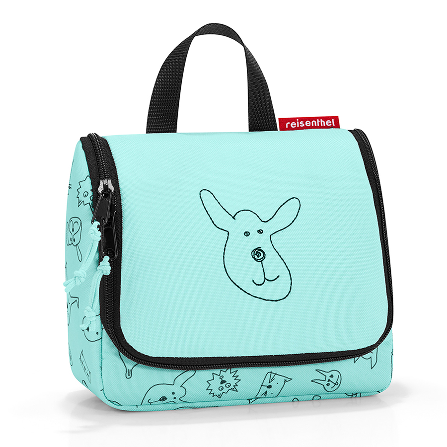 Органайзер детский Toiletbag S Cats and dogs Mint, 18х16 см, Полиэстер, Reisenthel, Германия, Cats and Dogs