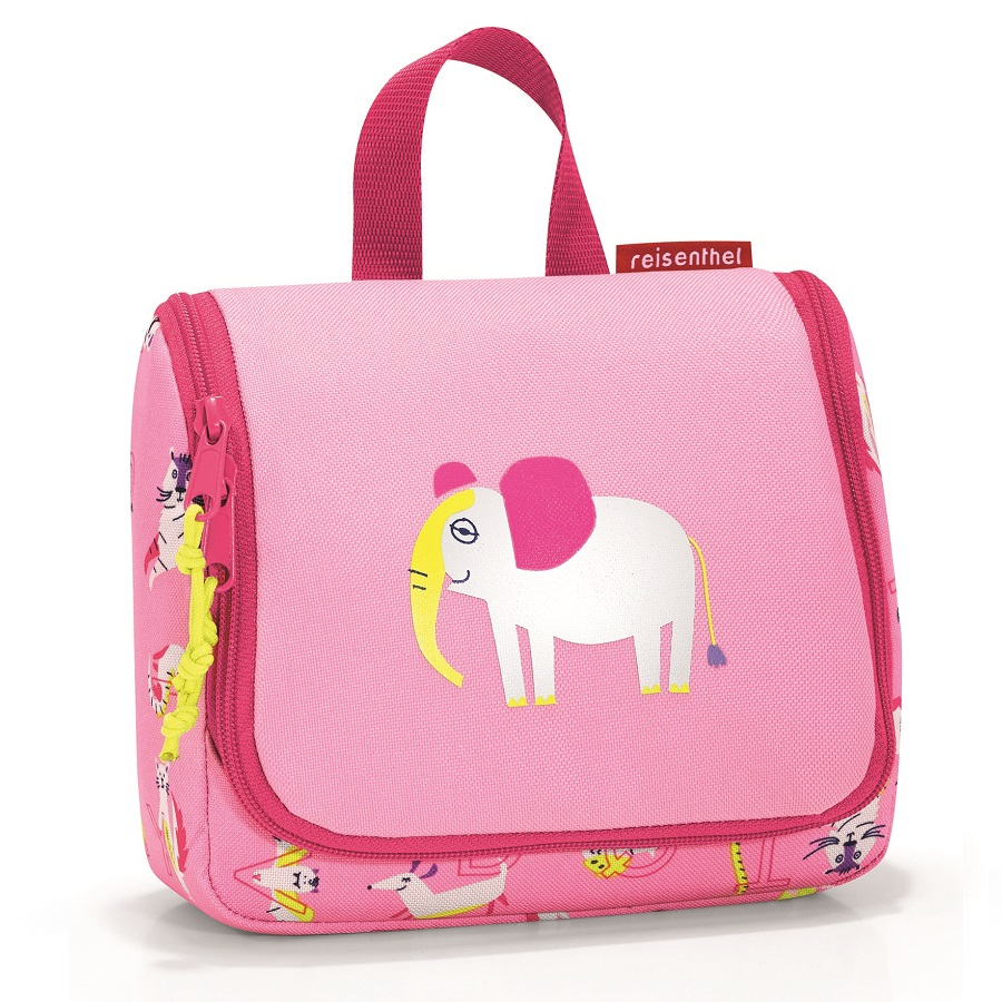 Органайзер детский Toiletbag s Abc friends pink, 16x10 см, 1,5 л, 20 см, Полиэстер, Reisenthel, Германия, Friends pink