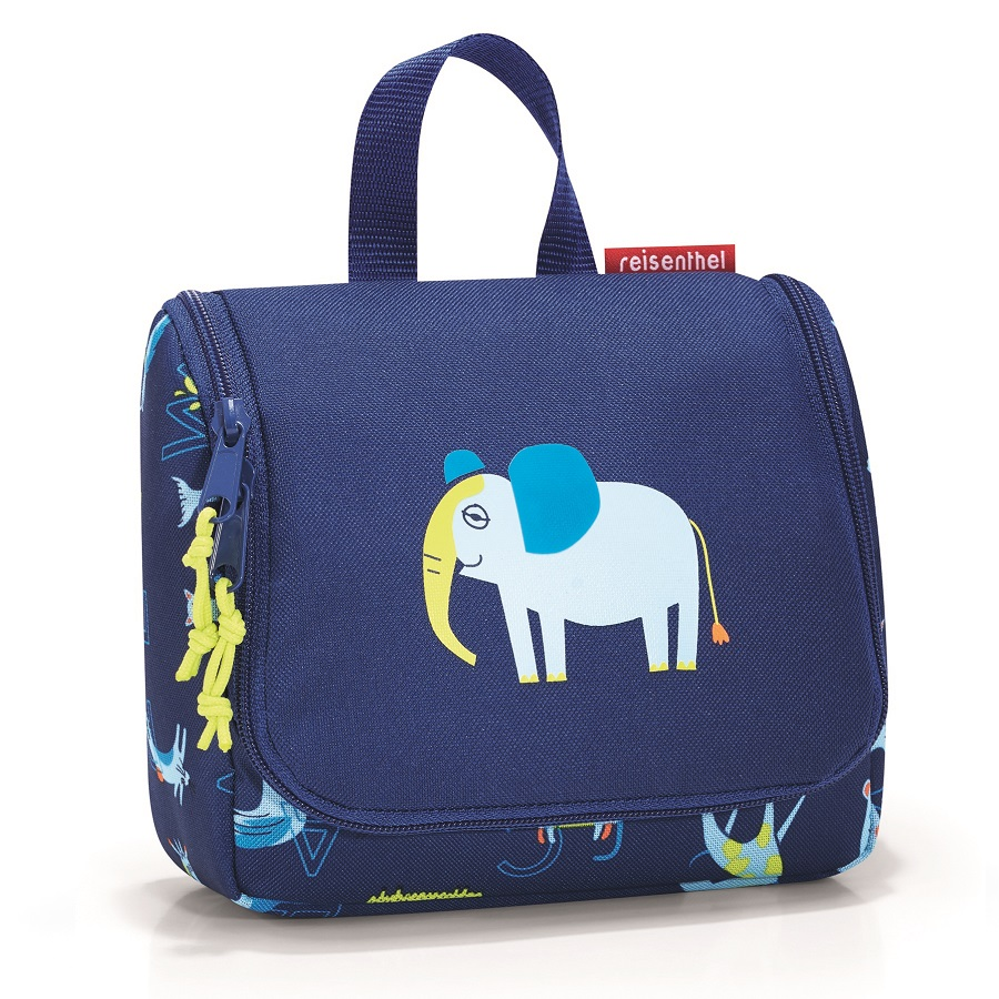 Органайзер детский Toiletbag s Abc friends blue, 16x10 см, 1,5 л, 20 см, Полиэстер, Reisenthel, Германия, Friends blue