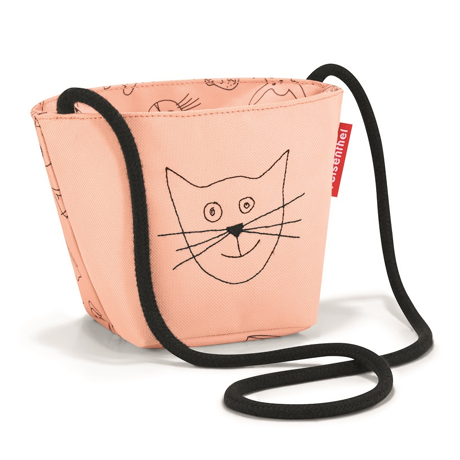 Сумка детская Minibag Cats and dogs rose, 12x10 см, 21 см, Полиэстер, Reisenthel, Германия, Cats and Dogs