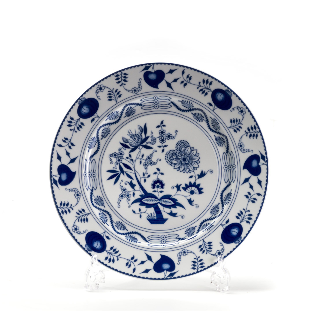 Тарелка десертная Onion blue, 22 см, Фарфор, Tunisian Porcelain, Onion Blue